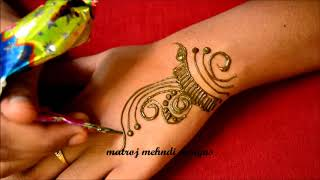 Simple Mehndi Designs-Easy Mehndi Designs-Mehndi Designs
