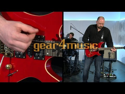 Indianapolis Electric Guitar By Gear4music (Performance)