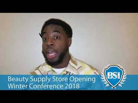 Beauty Supply Store Opening Conference Winter 2018 Feedback 6
