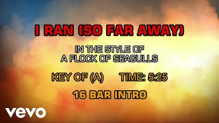 Скачать A Flock Of Seagulls I Ran So Far Away Karaoke