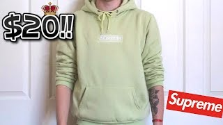a083b39e SUPREME BOX LOGO SWEATSHIRT | iOFFER REVIEW| RoyalPickups ...