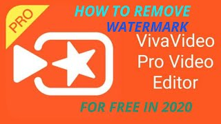 How To Remove Watermark from viva video for free in 2020.100% working.