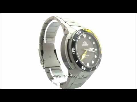 8083204eaee Relógio Orient Seatech Titanium 469TI003 G1GX - YouTube