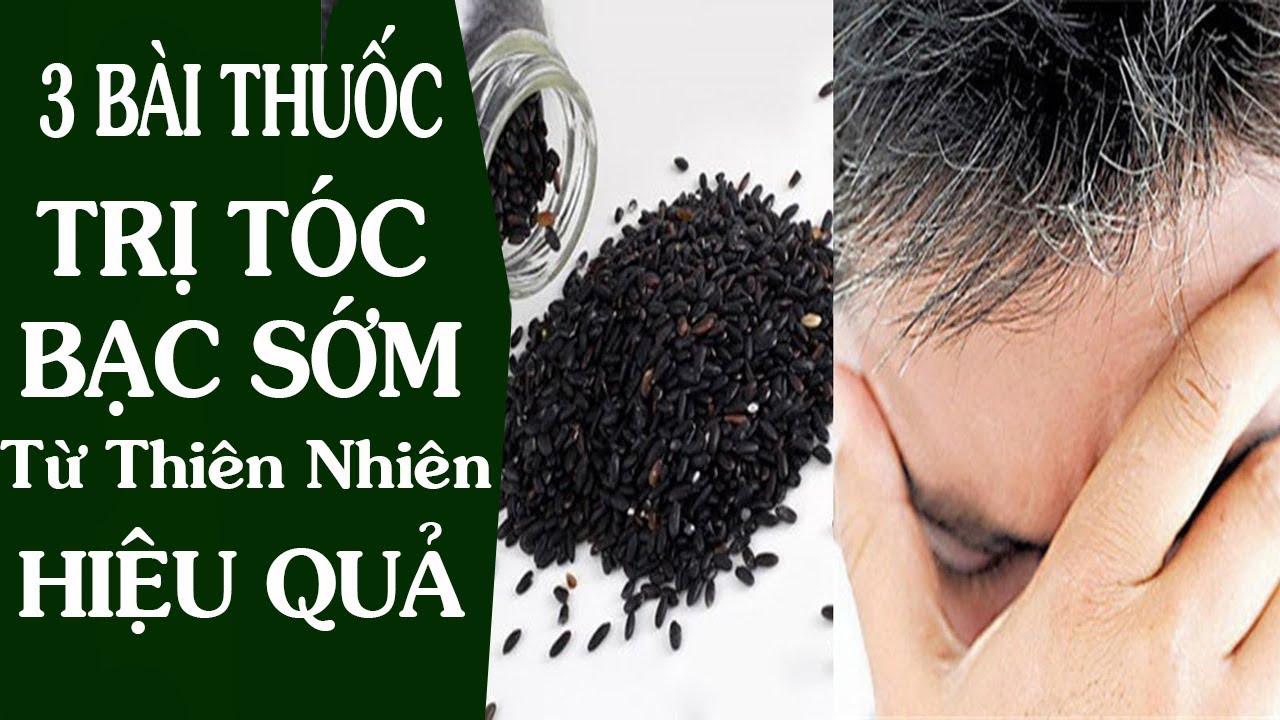 3 bài thuốc dân gian chữa tóc bạc sớm đơn giản tại nhà. Tóc bạc sớm