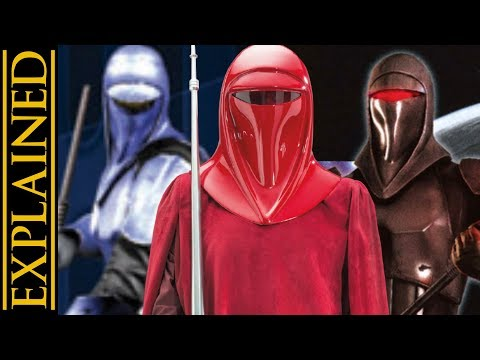 Imperial Royal Guards and Their Variants: Star Wars Canon vs Legends