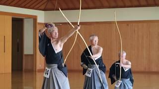 範士の奉射2 2018.11.3 明治神宮奉納全国弓道大会