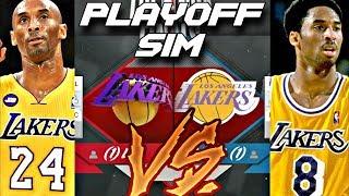 4323c6d55 KOBE  8 SEVEN GAME SERIES PLAYOFF SIMULATION ON NBA 2K18 ...