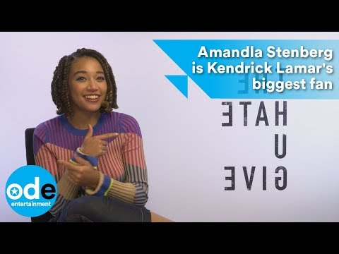 The Hate U Give: Amandla Stenberg is Kendrick Lamar's biggest