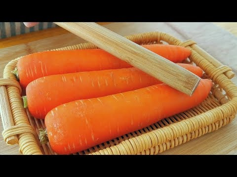 Do n't fry carrots and teach you how to make them delicious, nutritious and delicious!