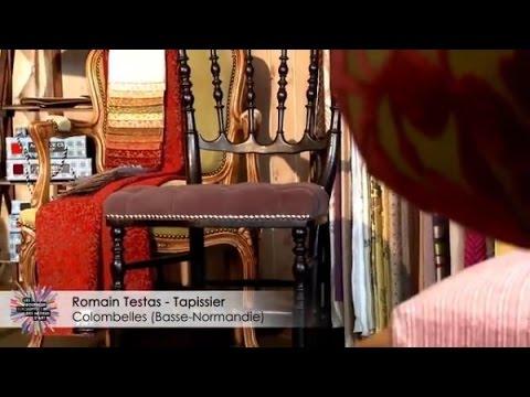 atelier romain testas tapissier caen youtube. Black Bedroom Furniture Sets. Home Design Ideas
