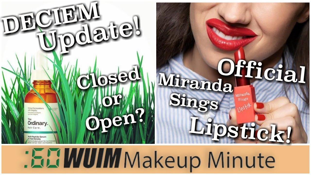 Dating advice miranda sings without lipstick