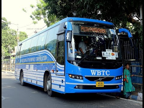 WBTC VOLVO 9400 B8R Durga Puja Parikrama Full Tour Coverage
