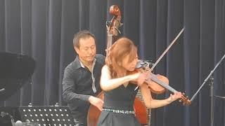 第1回ジャズオーディトリア2013での寺井尚子カルテットのパフォーマンス...