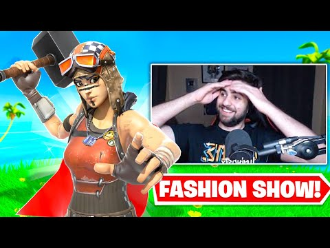 I STREAM SNIPED FASHION SHOWS with the NEW SEASON 4 SKINS ONLY!