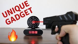Unique Gadget | Laser Shooting Gun Alarm Gadget | Tech Unboxing 🔥