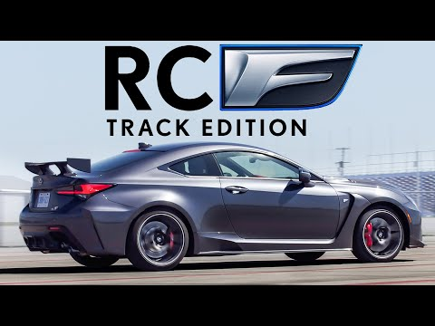WHAT! 2021 Lexus RC F Track Edition Review