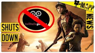 TELLTALE GAMES SHUTS DOWN - NOT GOOD! The Walking Dead Final Season