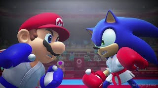 Mario and Sonic at the Olympic Games Tokyo 2020 - Game Movie ( All Cutscenes)