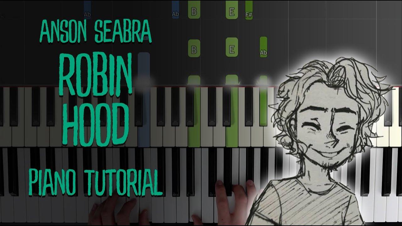 robin hood anson seabra piano sheet music  best music sheet