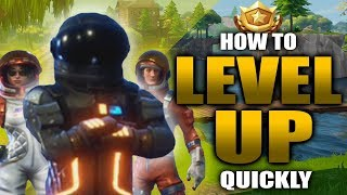 How to QUICKLY LEVEL UP YOUR BATTLE PASS | Season 3 Battle Pass | Fortnite Battle Royale