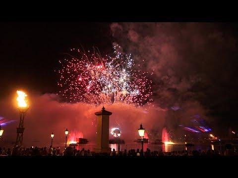 2018 Epcot July 4th Fireworks - Heartbeat of Freedom 4K Ultra HD, Disney World