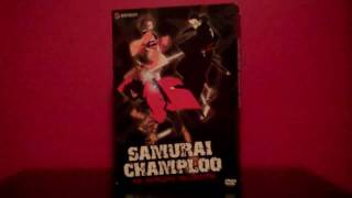 Samurai Champloo complete box set DVD review