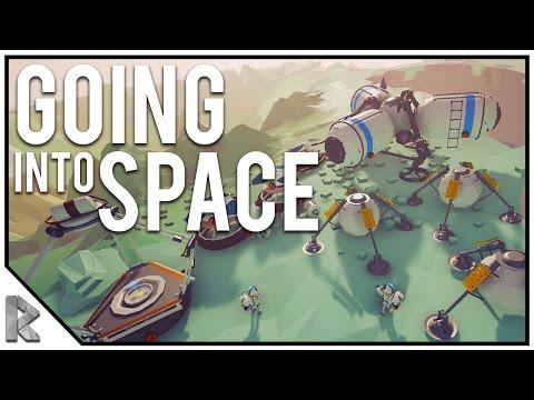 Going into Space?! - Astroneer #6 (Astroneer Alpha Gameplay)