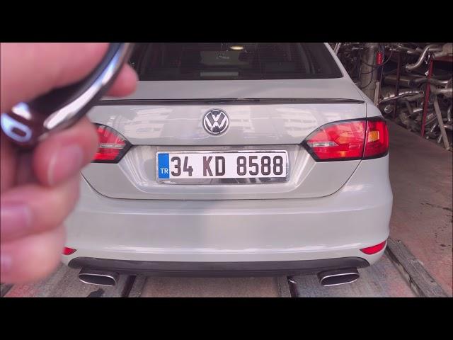 VW JETTA 1.6 DİZEL KUMANDALI VAREX EGZOZ SESİ
