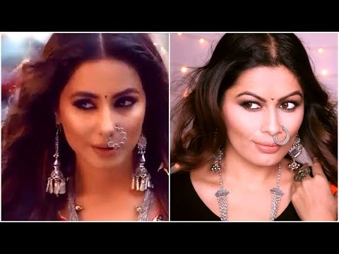 Komolika (Hina Khan) Entry Makeup Look Tutorial | Kasauti Zindagi Kay 2 |Celebrity Inspired |Kavya K