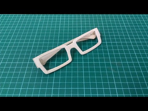 3#How to make the props glasses