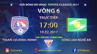 Than Quang Ninh vs Song Lam Nghe An full match