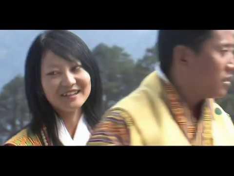 Dechen Lhundrup བདེ་ཆེན་ལྷུན་གྲུབ།  HD Bhutanese Music Video Traditional Song & Dance 05 1080P