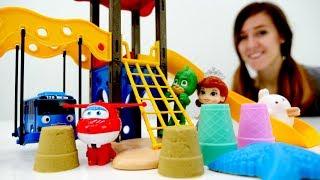 vuclip Guardería Infantil - Tayo, Pj Masks y  Play Doh cena