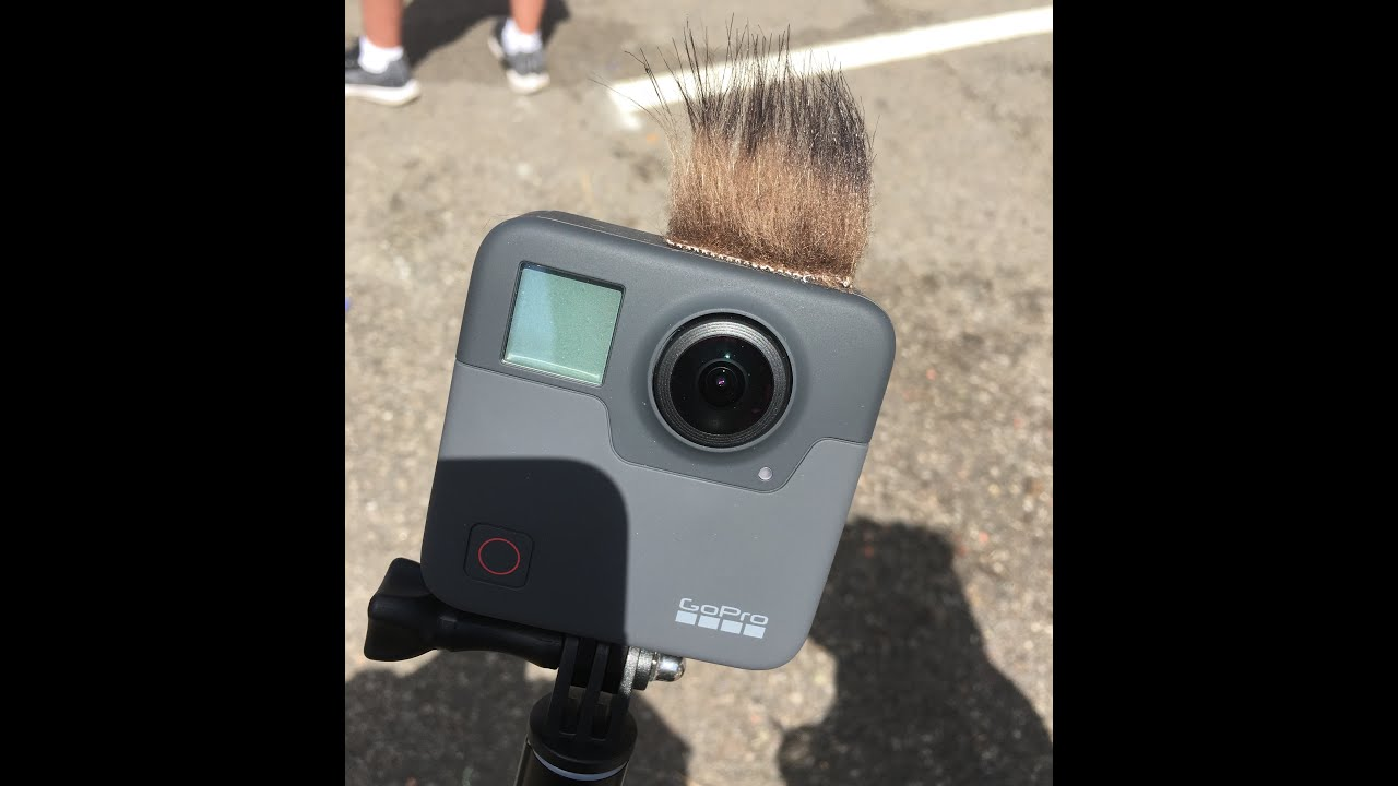 My Wind Suppression Furry for GoPro Fusion