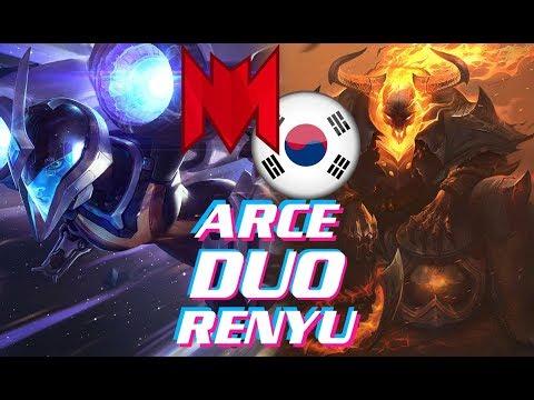 INF Renyu Kai'Sa vs Jinx | RNG Uzi Azir Mlxg Kindred | Duo Arce Thresh | Ranked Korea
