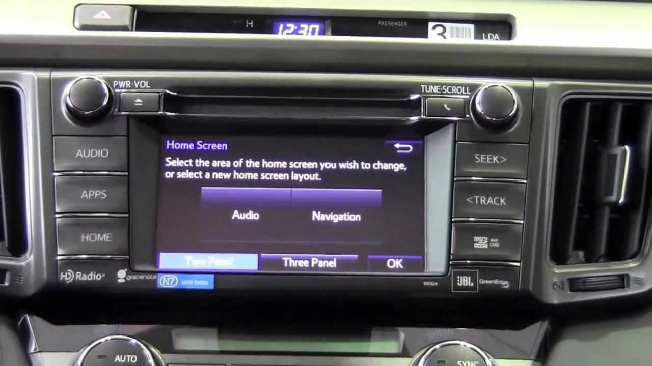 2014 Toyota Camry Hybrid >> 2014 Toyota RAV4 Customize Home Screen How To By Brookdale Toyota - YouTube