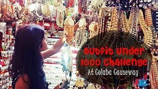Outfit Under 1000 Challenge: At Colaba Causeway