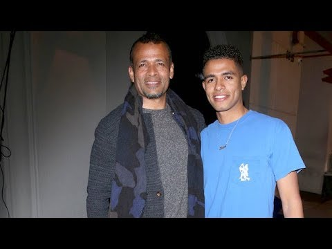 Mario Van Peebles And Son Mandela Chat Film Projects With The Photogs