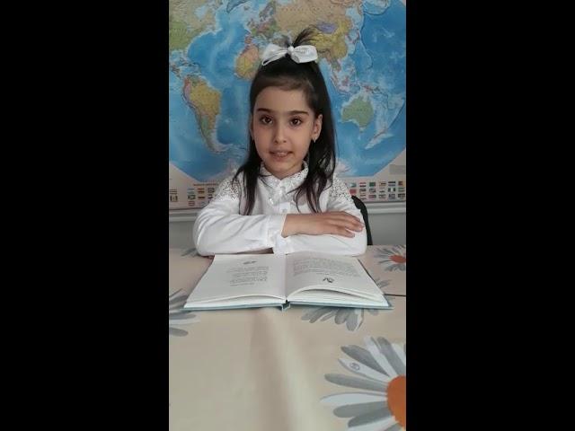 Изображение предпросмотра прочтения – АзимаБакирзаде читает произведение «Весенние воды» Ф.И.Тютчева