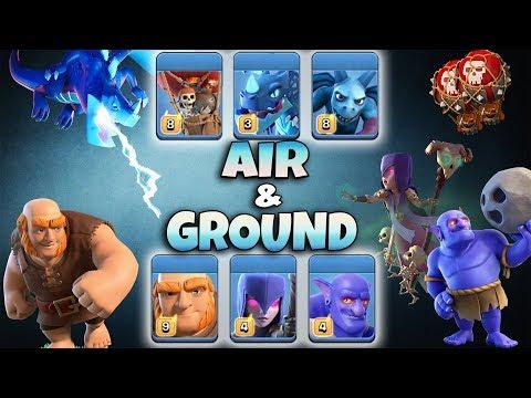 Best Ground & Air Dominated Clan War! TH12 War 3Star Attack Strategy 2019   Clash Of Clans