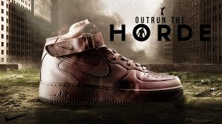 "Zombie Themed Nike Advert ""Horde"""