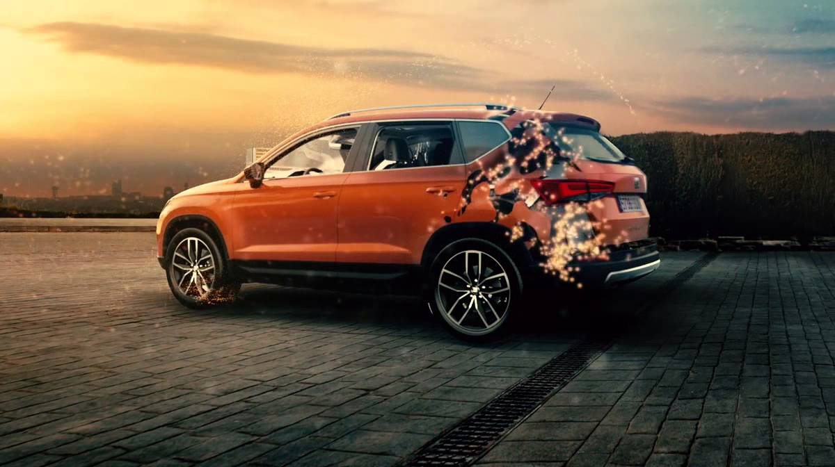 the new seat ateca style dynamics and utility for the urban adventure youtube. Black Bedroom Furniture Sets. Home Design Ideas