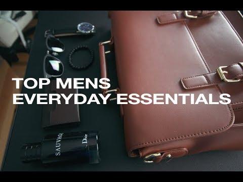 Top Mens Essentials Every Guy Needs