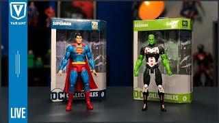 DC Essentials Superman & Brainiac LIVE Unboxing!