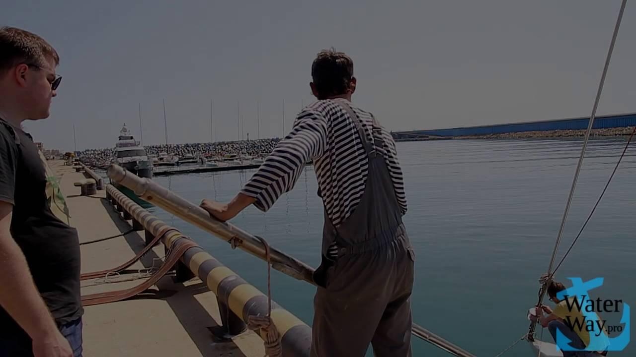 путешествие на лодке по черному морю