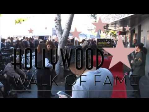 David Duchovny Walk of Fame Ceremony