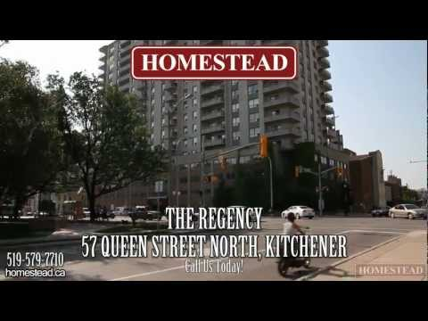 Kitchener Apartments for Rent - Regency - 57 Queen Street North
