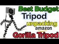 Mobilegear Flexible Mini Gorilla Tripod | Best Budget Tripod