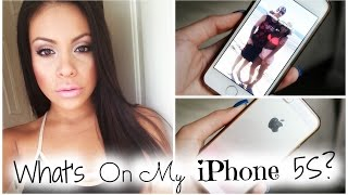 What's On My iPhone 5s? + How I Edit My Instagram Pictures! Thumbnail