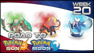 Road to Pokemon Sun and Moon [Week 20] Alola Starters Evolution Predictions and Opinions